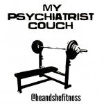 """Did you know that physical activity can benefit you in both physical and mental capacity? How will you """"blow off"""" your stress after work today? Oh and by the way…it's the weekend! #weightbench #psychiatrist #weightlifting #failureisnotanoption #ilift"""