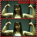 """Muscular is the new skinny! Ladies, you can lift weights and build muscle without worrying about becoming """"bulky"""" or """"big"""". Did you know that the testosterone to estrogen ratio is greatly reduced in women as compared to men. That is why that unless you are using synthetic enhancement (STEROIDS), it is highly unlikely that lifting heavy weights will add bulk and make you look """"manly"""". Instead, you will add slabs of lean muscular tissue and become not only more athletic, but also acquire great shape and definition. Now, tell me how that is NOT desirable. Speak now or forever hold your peace!"""