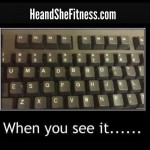Tell me, do you see it? Leave your comment below when you figure it out. Happy Friday and wonderful weekend wishes to you all! #heandshefitness #fitnesshumor #fitnessfunnies #umadbro