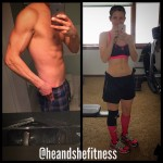 The great shred-out lean-out 2015 continues for #heandshefitness . 8 weeks in and we are feeling the results from daily cardio, strict dieting, and intense weight training sessions. It won't be long now until the light is at the end of the tunnel. How are your goals for the 2015 season shaping up this far? Are you reaching your areas of progress or do you have some catching up to do? Whatever your goals are, it is NEVER to late to get started. Whatever you choose to do, SOMETHING is better than NOTHING at all! #fitnessmotivation #fitnesscouples #goalsetting #fitnessgoals #fitnessjourney #fitnesstransformations