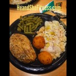 Here is an example of a cheat meal that we ate a couple weeks back at Long John Silvers. We typically do not eat meat on Fridays during Lent so choices are limited to a fish fry, Long John Silvers, or tilapia at home. Since tilapia can get old, we chose the Long John Silvers and were still able to keep the meal around relatively 600 calories. Here is baked cod, Green beans, baked potato, rice, and two hush puppies. You can still eat out at one of the worst places in town and find a way to make it healthy. No excuses, keep going strong through the week! #longjohnsilvers #nomeatfridays #lentfishfry #fridayfishfry #heandshefitness #fitnessnutrition