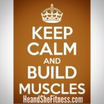 Keep calm and #buildmuscles . Now that the weekend is over, who is ready to #smashtheweights in the gym and hit their diet perfectly this upcoming week? Sure it can be depressing that the weekend is over, but it can also be motivating to know that the week ahead can bring accomplishments that bring us to even larger achievements. Instead of dreading the week ahead, think about what goals you can achieve and how you will make the best productive use of your week ahead. Visualize where you want to be in one year and five years and then make this week just one week closer to realizing those destinies! #heandshefitness #fitnessgoals #fitnessquotes #fitnessmotivation #belegend