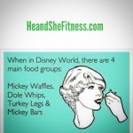 Less than two weeks away from #heandshefitness Disney World invasion. Who is ready to eat some #dolewhips and #turkeylegs and #mickeywaffles ? What are your favorite Disney World foods (healthy or not)? #fitnessfood #fitnesshumor #foodcravings #fitnessfunnies
