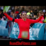 #shefitness destroyed her first race of the year in true #halfmarathon style, finishing in the top 9% of overall finishers with her best time yet. The 2015 #gazellegirl half marathon was an excellent course and had perfect weather for the runners this year. Perfect day! #heandshefitness #gazellesports #fitnesscouples #fitnessjourney #fitnessmotivation