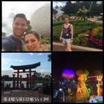 Day 5 at #epcot during the #gardenfestival – #heandshefitness #fitnessvacation #disneyworldadventure #disneyworldepcot