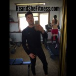 #weekendworkout time for #heandshefitness at the home gym. Weight training, outdoor cardio, AND #indoorcardio. Time for some carbohydrates anyone? What are your plans to stay healthy and active this weekend? Are you rewarding yourself with a cheat meal or are you sticking to the course? Happy Saturday! #fitnesscouples #fitnessjourney #cardiocouples