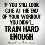 Did you #trainhard enough today? If you're not sweating and busy trying to gasp and catch your breath, it may be time to rethink your workouts. Getting fit is about constantly challenging yourself and keeping your muscles guessing at all times. How hard did you sweat today? #heandshefitness #fitnessgoals #fitnesstruth #fitnessquotes #fitnessmotivation