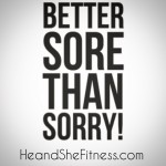 Well it is back to the #fitnessgrind for #heandshefitness – although it can be hard to get back into fitness after a week or two off of eating anything you want and very little exercise, starting now is your best option. The slogan better sore than sorry could not be more true at this time. Are you putting something off that you could get started with right now? If so remember the best time to begin is now. #fitnesstruth #fitnessquotes #fitnessmotivation #bettersorethansorry looking for cheap bulk supplements? Use our discount code below: http://ift.tt/1yMBLUP