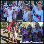 #Colorrun #happiest5k #weshine color run 2015 this morning. Fitness can sometimes be FUN!