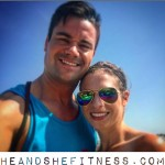 Just taking time out of our busy schedules to enjoy each other and the warm Michigan summer weather. #heandshefitness #fitnesspro #fitcouples #fitnessjourney
