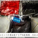 Oh how #heandshefitness loves fresh @myprotein gear. New #stringers and slim fit sweatpants ready to be broken in. #fitnesspro #fitnessgear #myprotein #trainingapparel