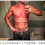 Taking #progresspictures is not only helpful to track changes in physique, but also exciting once progress begins to happen. #hefitness is nearing the end of the summer cut and ready to put on more #leanmuscle for the winter. Have you been tracking your goals lately? The scale may not always be dead-on accurate because of water and glycogen fluctuations, but the mirror never lies. #heandshefitness #fitnesspro #fitnessgoals #sixpack #fitnessmotivation PS – if you'd like in on a little secret about the best bulk supplements without the ridiculous filler ingredients, take advantage of our 10% off code at @powder_city here: http://ift.tt/1yMBLUP