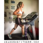 #shefitness prepping for her upcoming #halfmarathon today on the #treadmill – it was rainy outside but she still pelted out 8 miles no problem. Bad weather? What's your excuse? Get it done today! #heandshefitness #fitnesspro #fitnessgrind #iloverunning PS – if you are looking for cost effective supplementation that WORKS, use our 10% off code at @powder_city : http://ift.tt/1yMBLUP