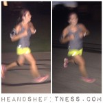 #shefitness is waaaay too fast for flash. #heandshefitness #fitnesspro #mizuno #runtowin #iloverunning