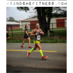 No big deal floating for #shefitness – just utterly destroying it as usual in her #halfmarathon #race today. #mizuno #iloverunning #runtowin – use the Myprotein link in our profile with coupon code: heandshefitness for a special discount!