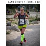 #shefitness has got the #runnersfloat going on in her latest #halfmarathon – just KILLIN it. #heandshefitness #fitnesspro #runtowin #mizuno #iloverunning
