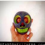 Have a safe, happy, and HEALTHY Halloween! 🤖👽👻🙌🏻 ____________ #heandshefitness #happyhalloween #halloween #avocado #carvedavocado #avocadopumpkin