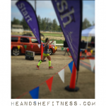 TBT to destroying the finish line at the last half marathon. 👟👟👟👟👟 __________ #heandshefitness #halfmarathon #crossingthefinishline #shefitness #fitnesspro