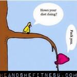 "Ever have one of those ""off-diet"" WEEKS. 😂😂😂😁😁😁 ____________ #heandshefitness #dietcheck #dietprogress #fitnessfunny #fitnessmeme #dietmeme"