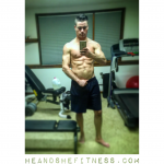 Fat abs starting to pop out. It's cutting time again and shredded is only a few weeks off. You CAN accomplish your goals if you take them one selfie at a time! 💪🏼💪🏼💪🏼 __________ #heandshefitness #fitnesspro #fitnessselfie #shortcuttoshred #cuttingseason #fatabs