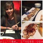Enjoying a nice sushi cheatmeal with shefitness. 💪🏼🍕👌🏼😻 ____________ #heandshefitness #cheatmeal #sushimeal #shefitness #japaneseterriyaki #yumyum