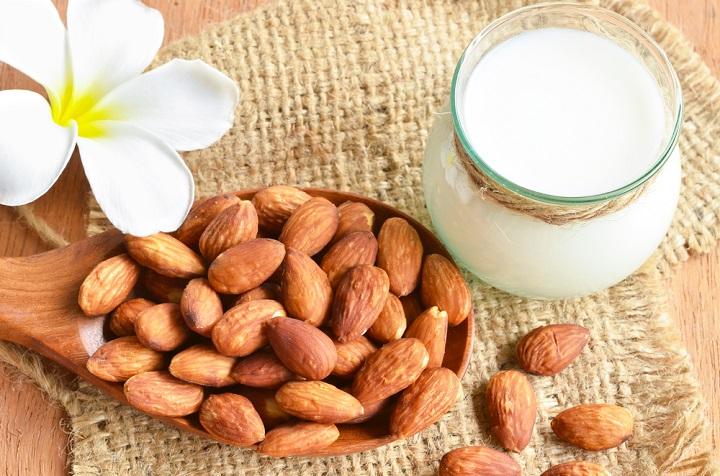 almond milk press