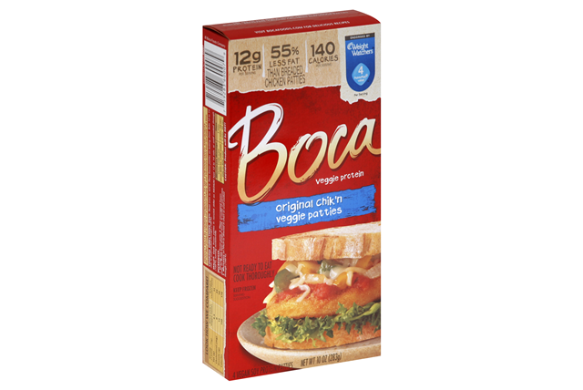 boca chicken patty burgers