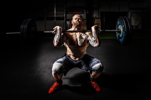 fitness break up weight training