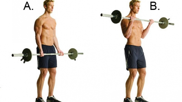 Four (4) Exercises for Awesome Arms