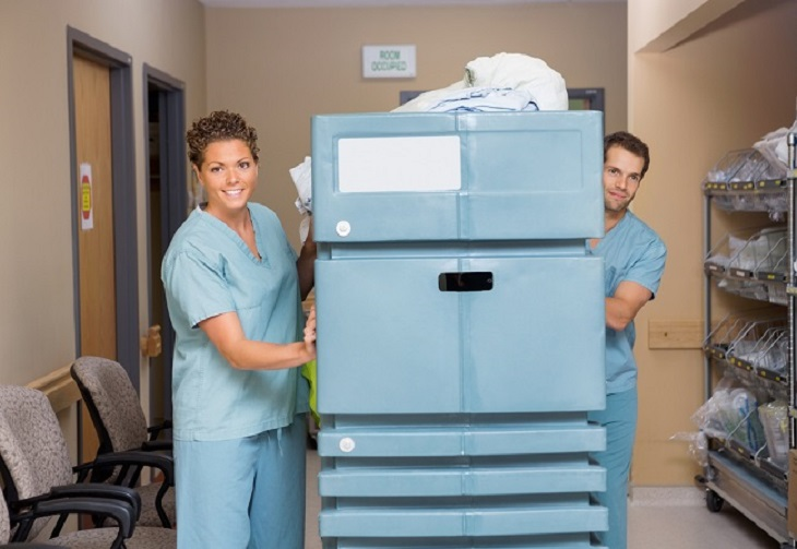 medical carts workers