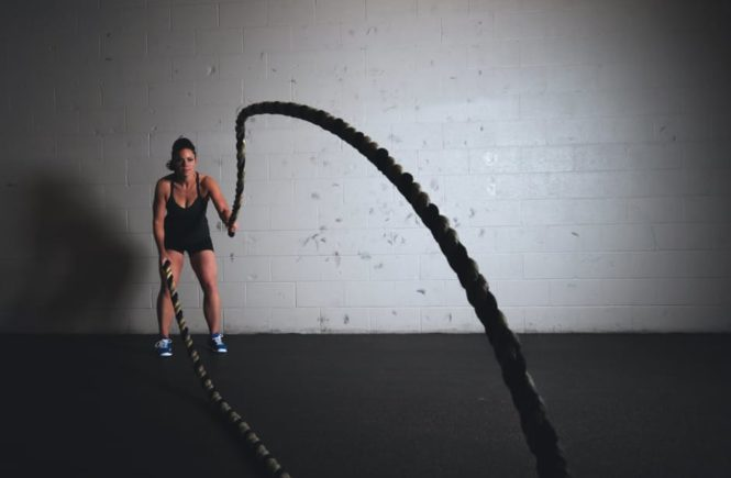 Fun Fitness with ropes