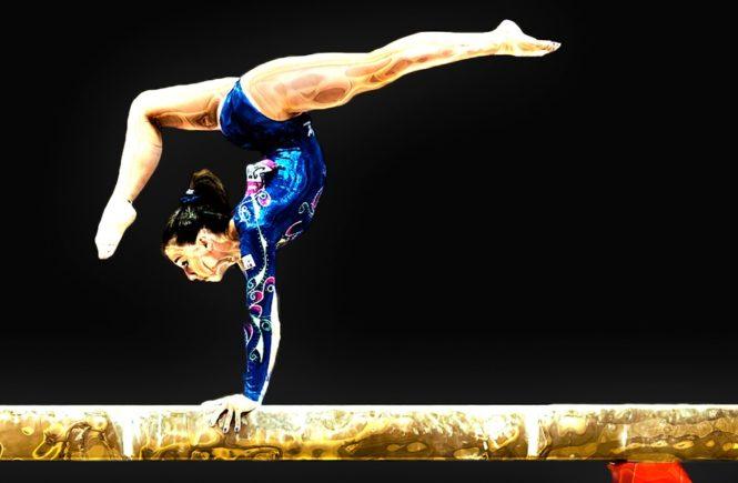 gymnastics winner