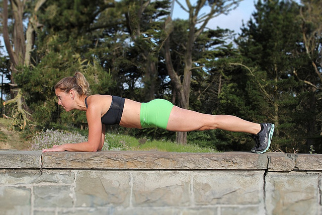 small changes to fitness plank