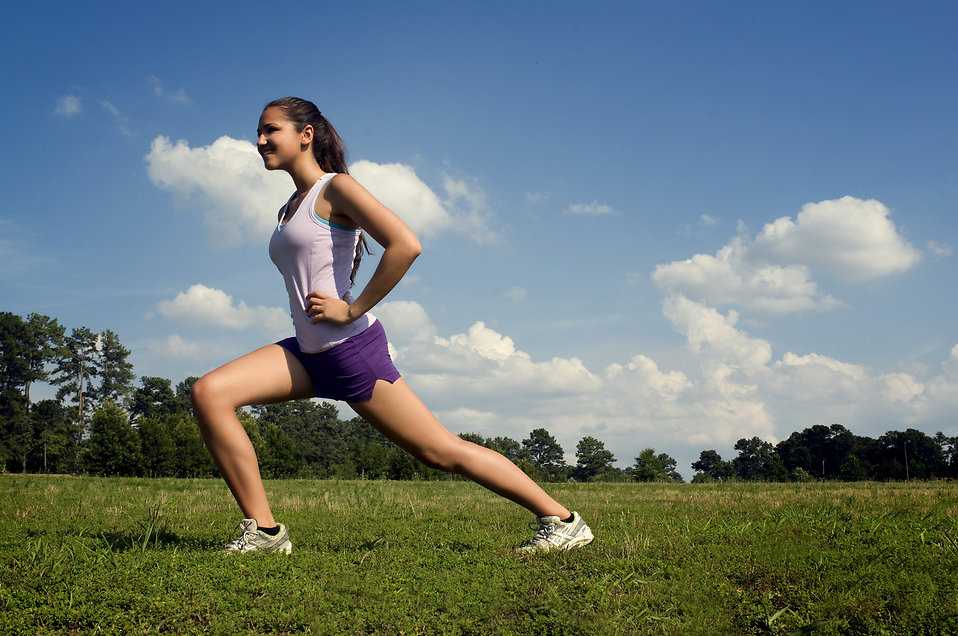 Fitness tips for moms stretching