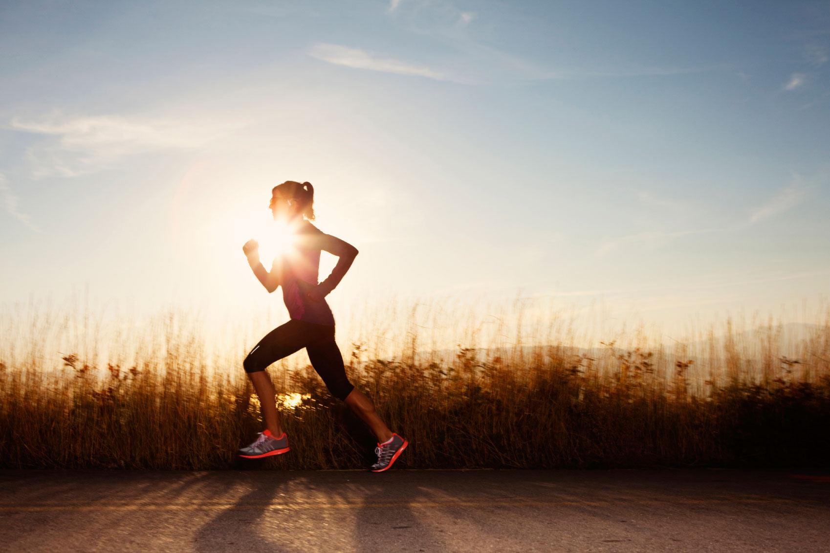 Fitness Gear woman running