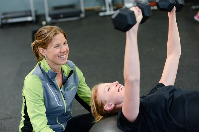 Best Gym Exercises personal trainer smiling