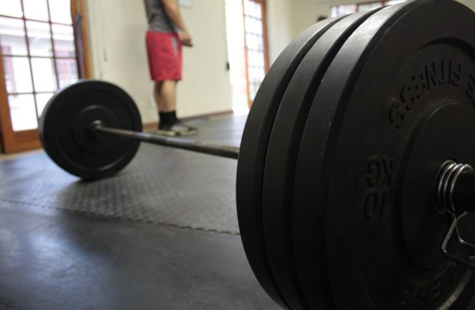 Gym Injury comeback barbell weights