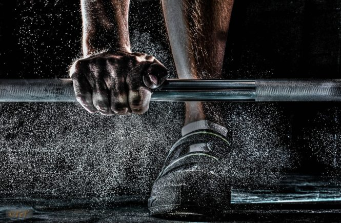 Bodybuilding Harm Your Joints barbell chalk grip
