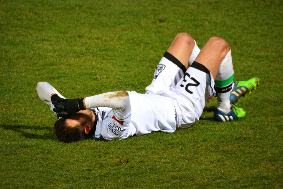 Sports Performance sore loser soccer player