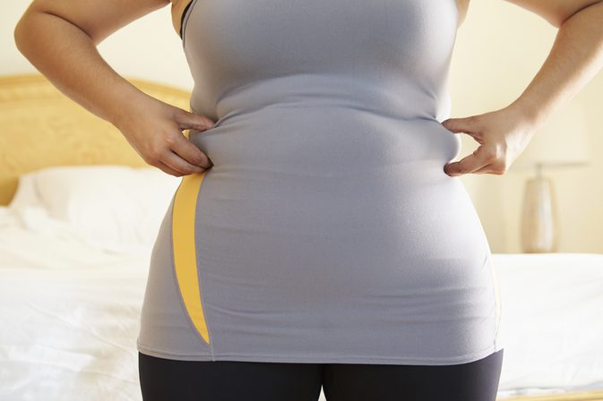 What Is Visceral Fat pinching fat