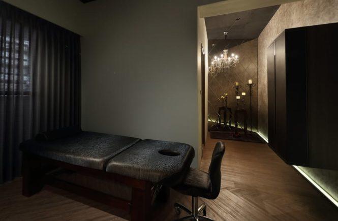 Chiropractor office massage chair