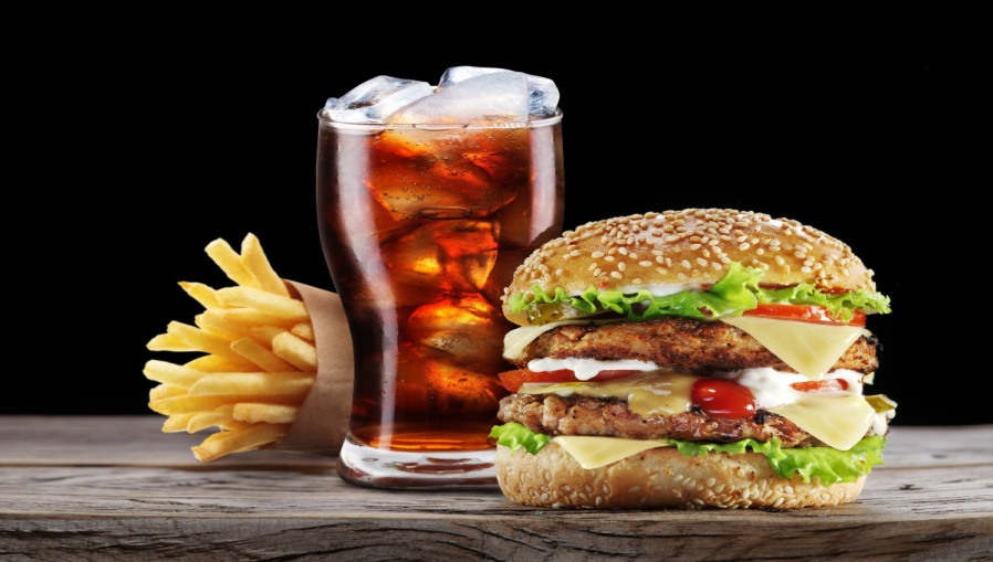 fitness tips unhealthy fast food