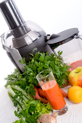 juicer machine freshly squeezed vegetable juices