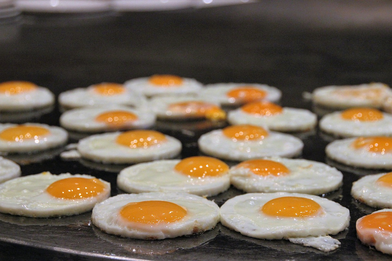 Lose Weight eggs on the grill
