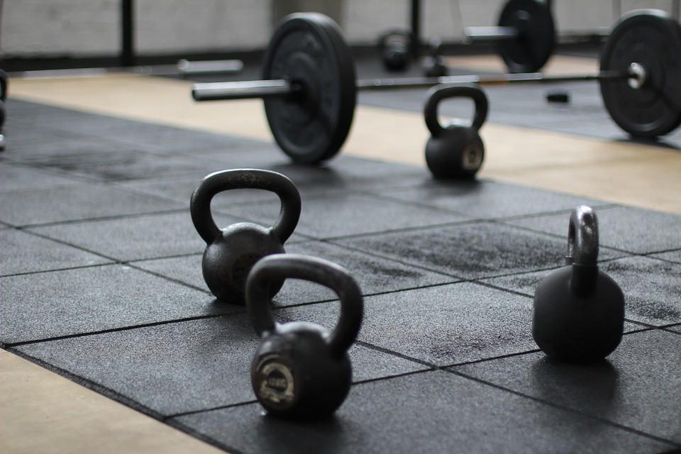 Fitness Excuses kettlebells on ground