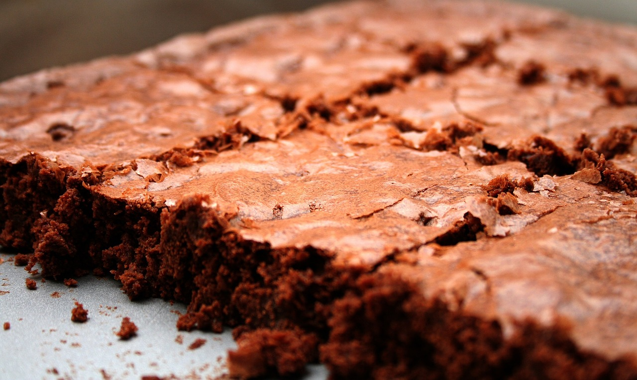 Lose Weight brownies freshly baked