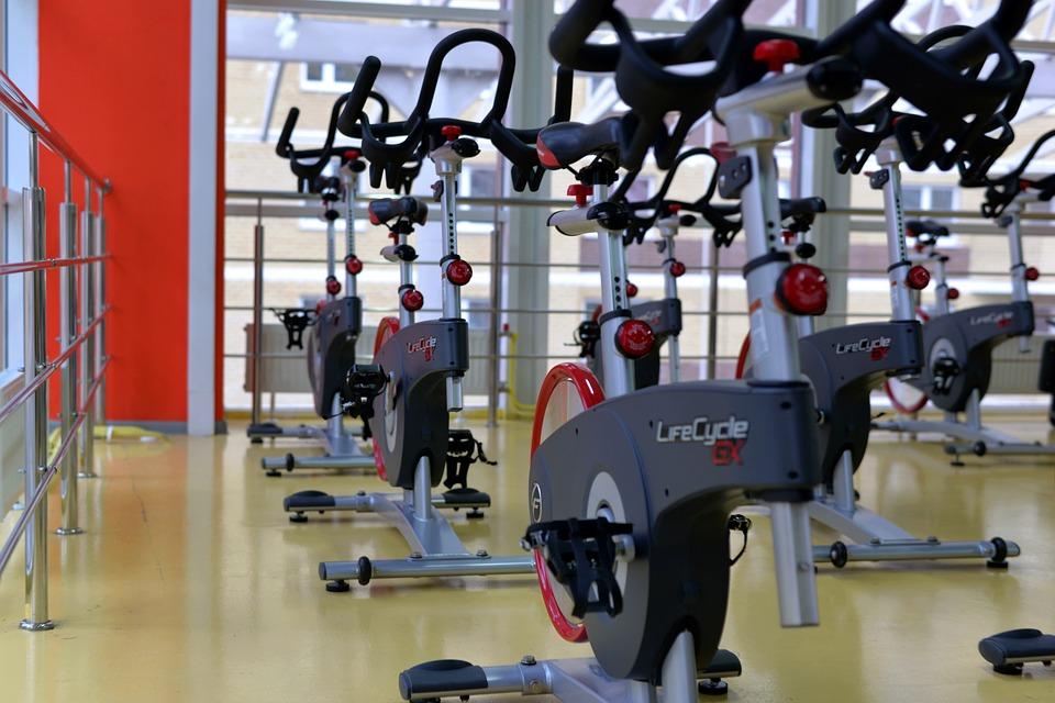 Opening a gym machine equipment