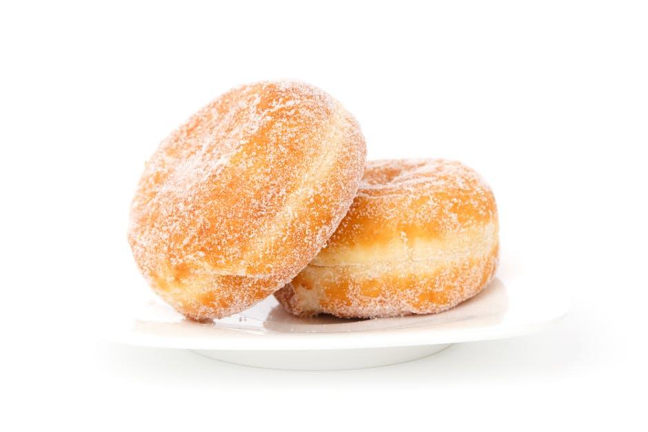 sugary berliner breakfast bun cake weight gain