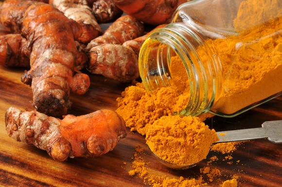 Superfoods Energy turmeric spices