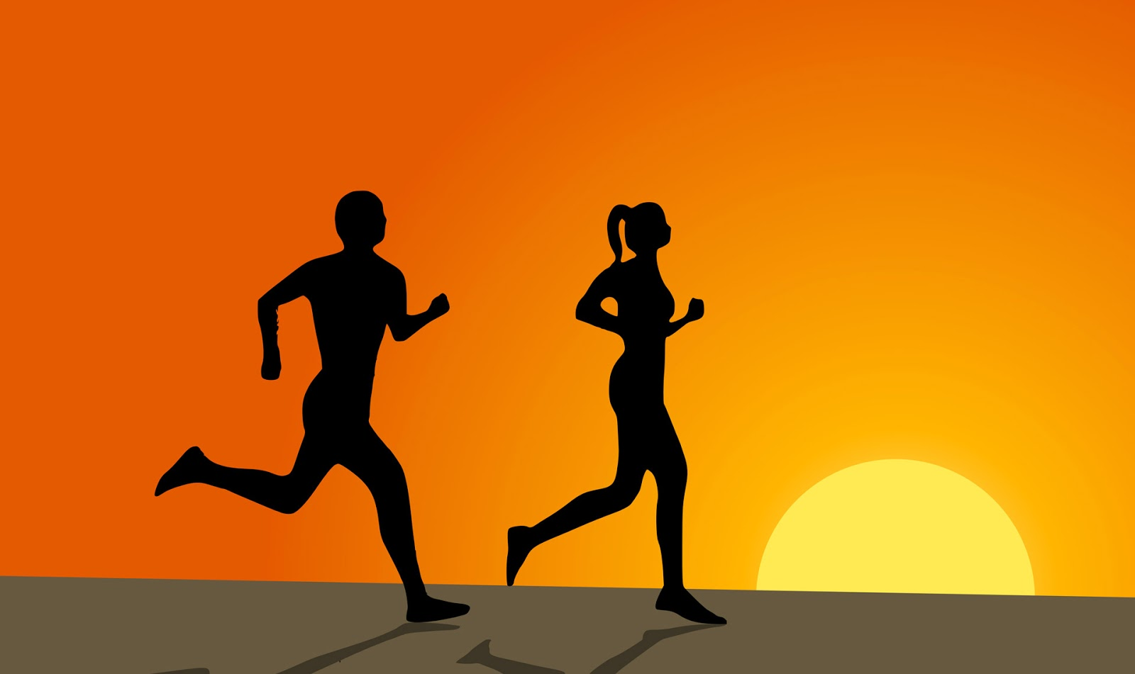 Married Couples healthy running